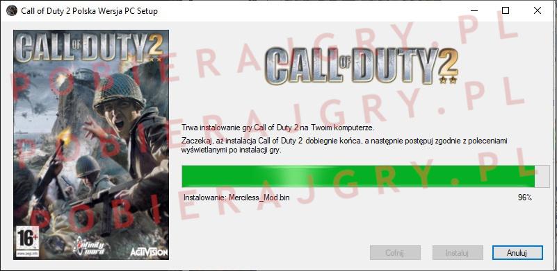 Call of Duty 2 instalacja 6