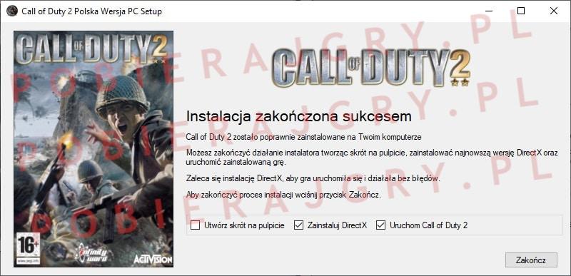 Call of Duty 2 instalacja 7