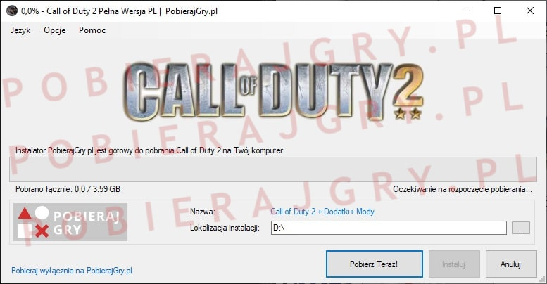 Call of Duty 2 pobierz