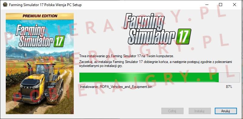 Farming Simulator 17 Instalator 6