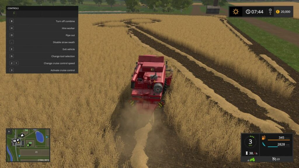 Farming Simulator 17 gra1