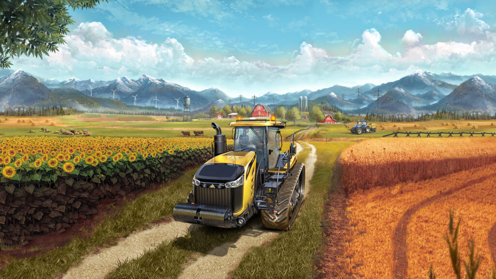 Farming Simulator 17 tapeta
