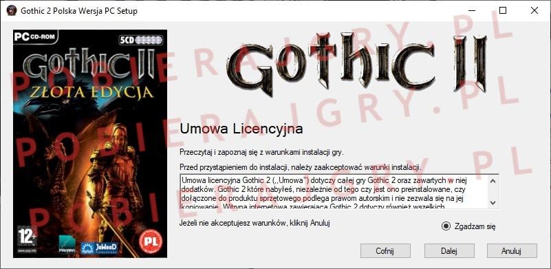 Gothic 2 Instalacja 2