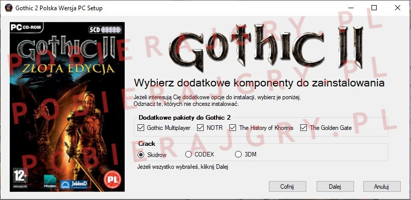 Gothic 2 Instalacja 3
