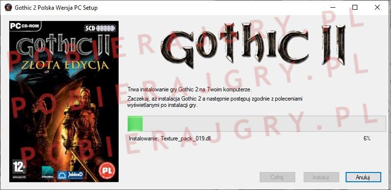 Gothic 2 Instalacja 5