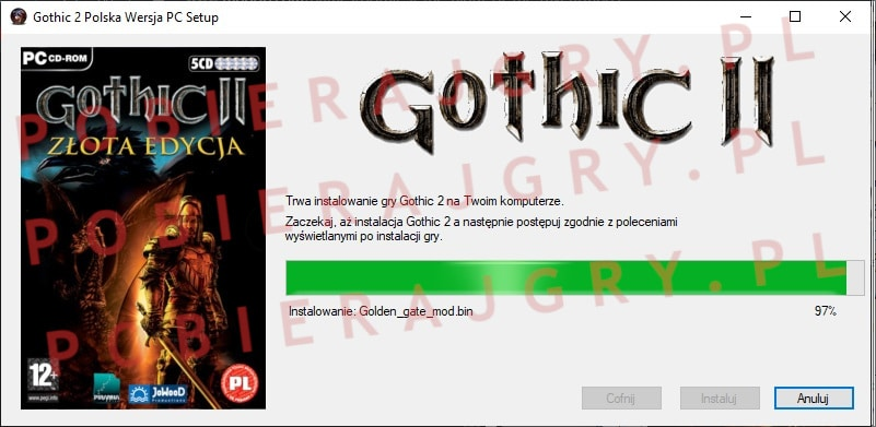 Gothic 2 Instalacja 6