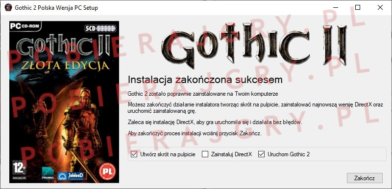 Gothic 2 Instalacja 7
