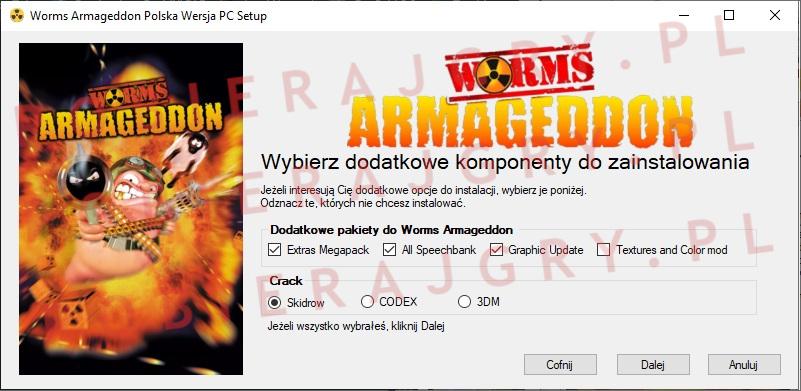 Worms Armageddon instalator 3