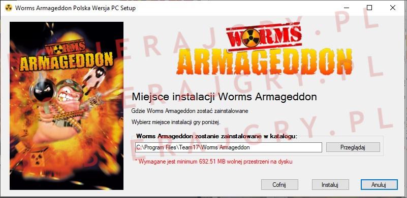 Worms Armageddon instalator 4