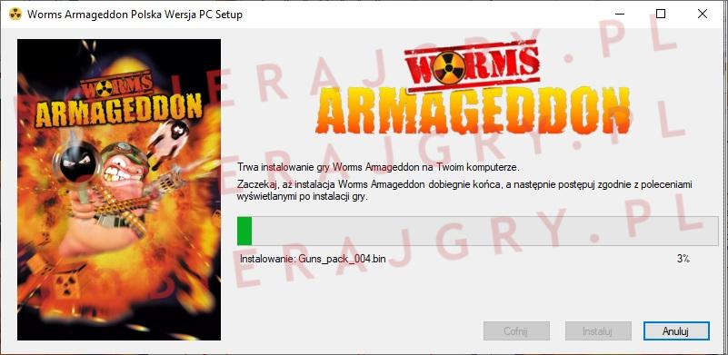 Worms Armageddon instalator 5