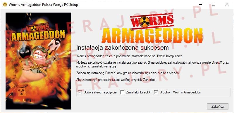 Worms Armageddon instalator 7