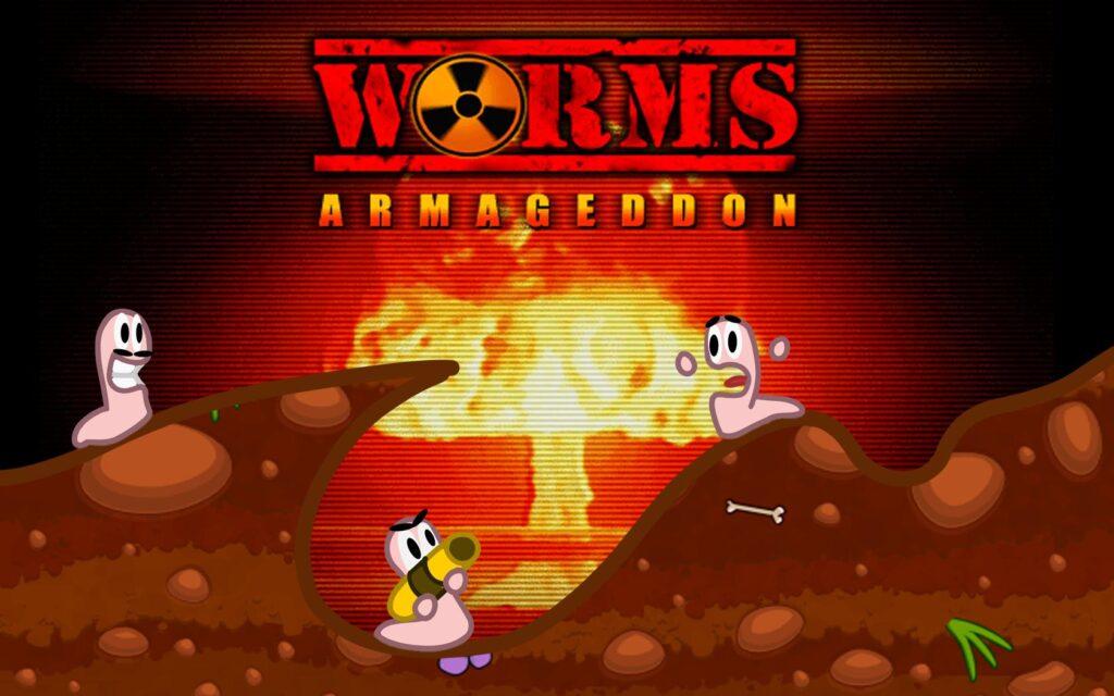 worms armageddon tapeta