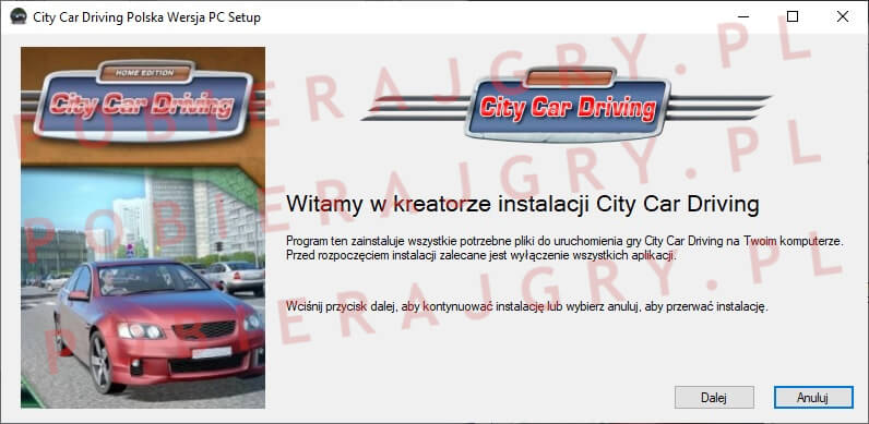 City Car Driving Instalator 1