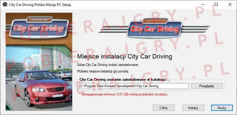 City Car Driving Instalator 4