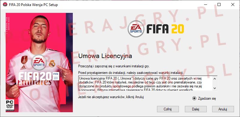 FIFA 20 Instalacja 2