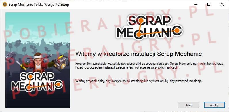 Scrap Mechanic Instalator 1