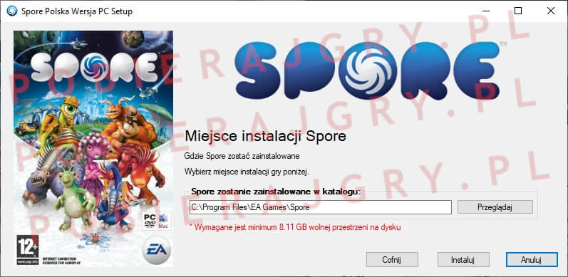 Spore Instalator 4