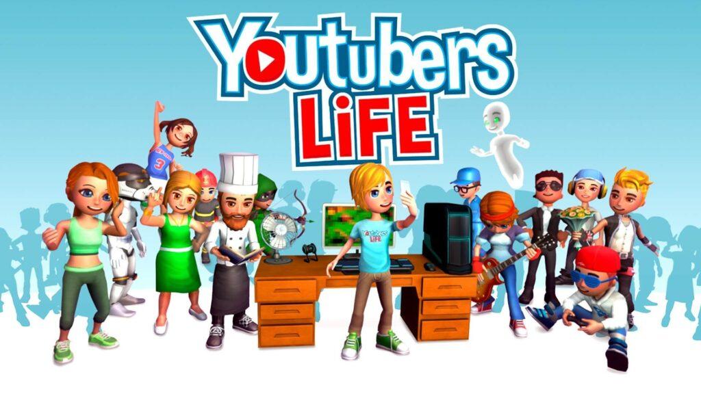 youtubers life tapeta