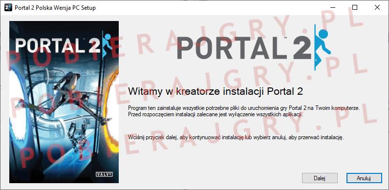 Portal 2 Instalacja 1