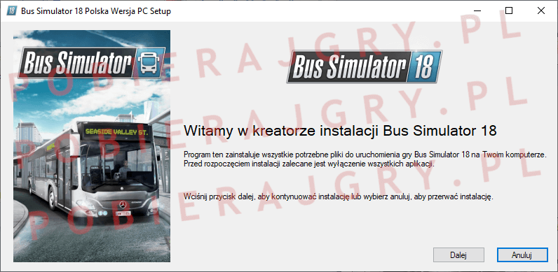 Bus Simulator 18 instalacja 1