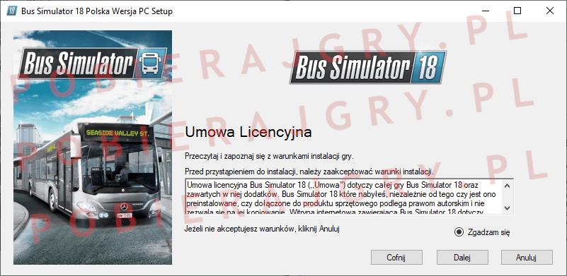 Bus Simulator 18 instalacja 2