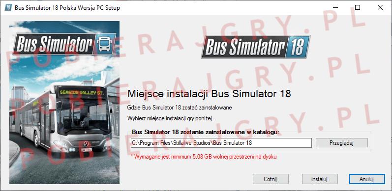 Bus Simulator 18 instalacja 4