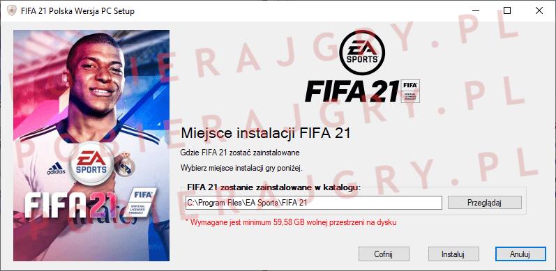 FIFA 21 instalacja 4
