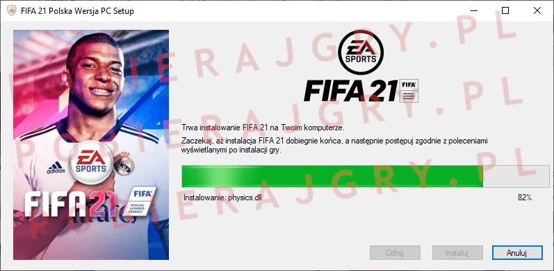 FIFA 21 instalacja 6