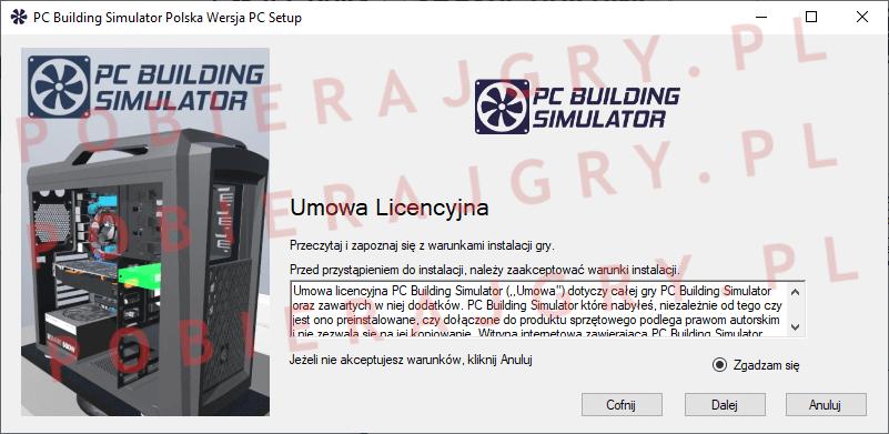 PC Building Simulator instalator 2