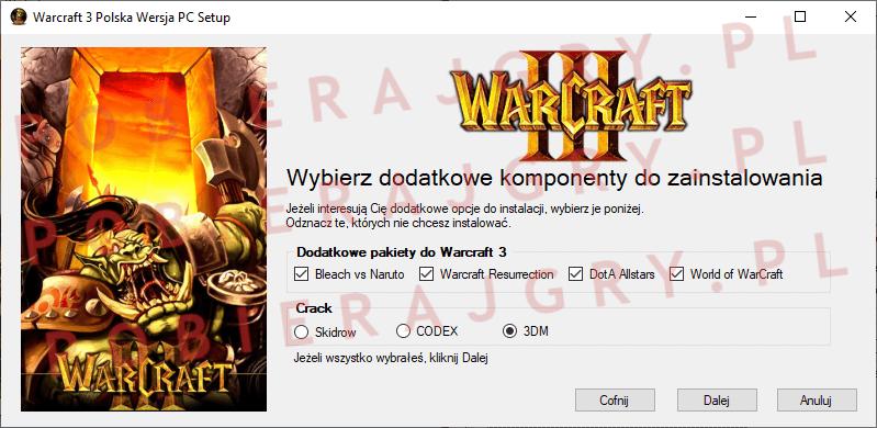 Warcraft 3 Instalacja 3