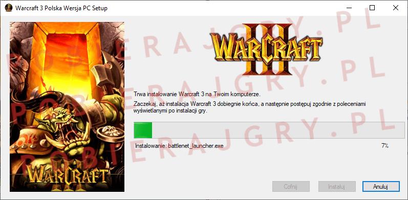 Warcraft 3 Instalacja 5
