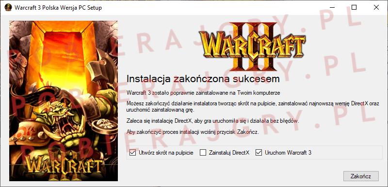 Warcraft 3 Instalacja 7
