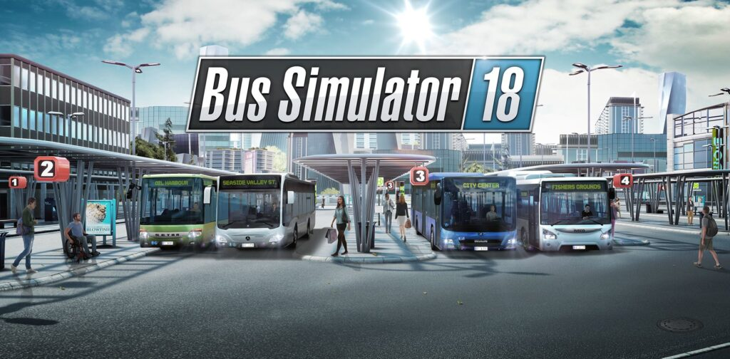 bus simulator 18 wallpaper