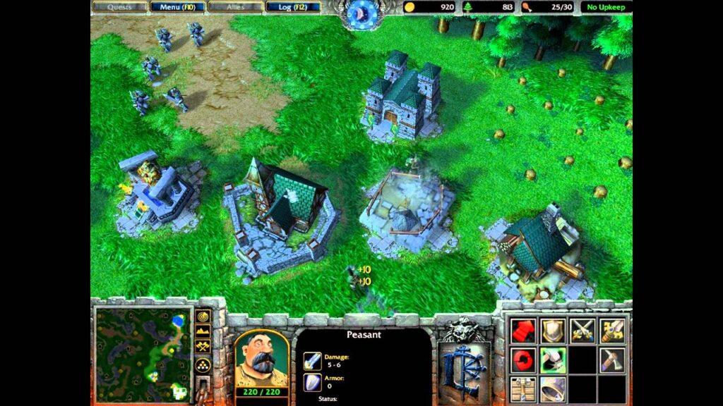 warcraft 3 gra