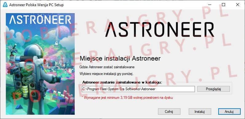 Astroneer Instalacja 4