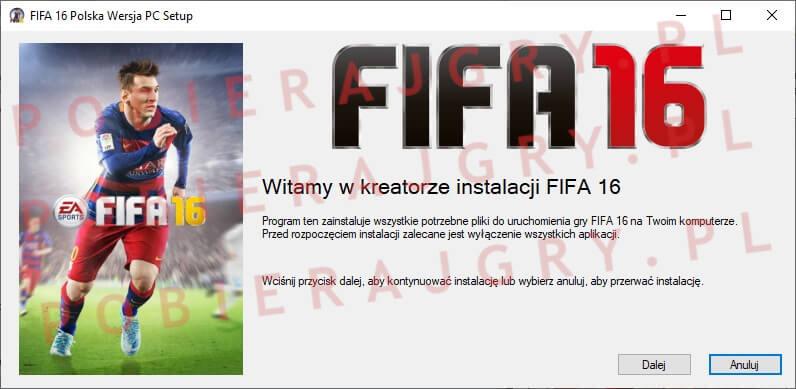 FIFA 16 instalacja 1