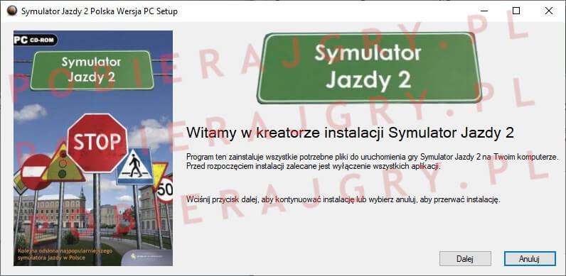 Symulator Jazdy 2 Instalacja 1