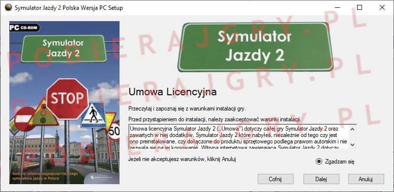 Symulator Jazdy 2 Instalacja 2