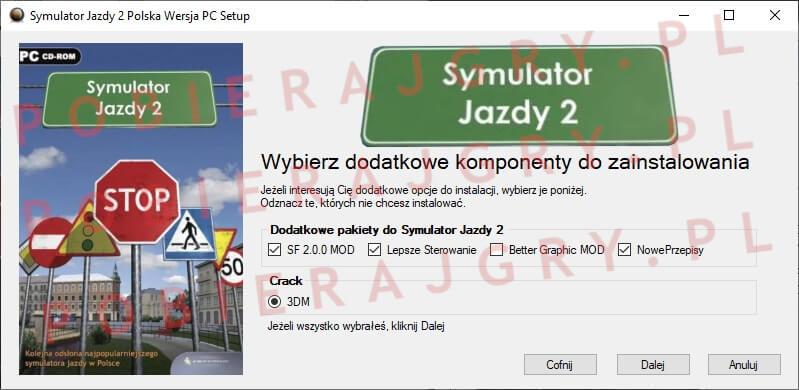 Symulator Jazdy 2 Instalacja 3