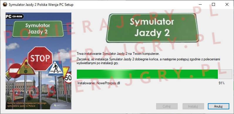 Symulator Jazdy 2 Instalacja 6