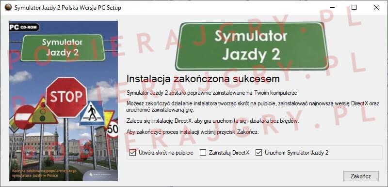 Symulator Jazdy 2 Instalacja 7