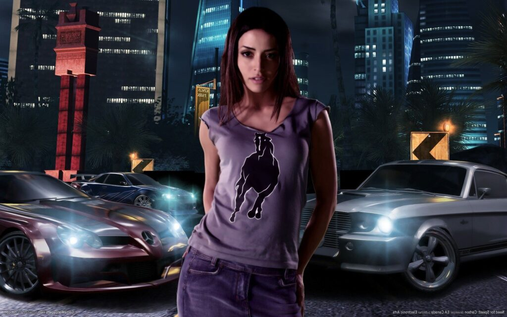 need for speed carbon tapeta