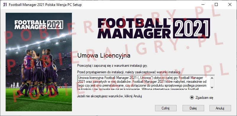 Football Manager 2021 Instalacja 2