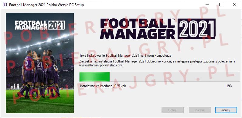 Football Manager 2021 Instalacja 5