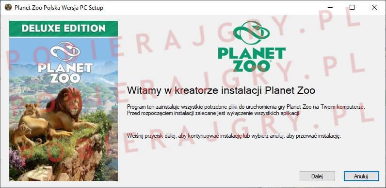 planet zoo instalacja 1