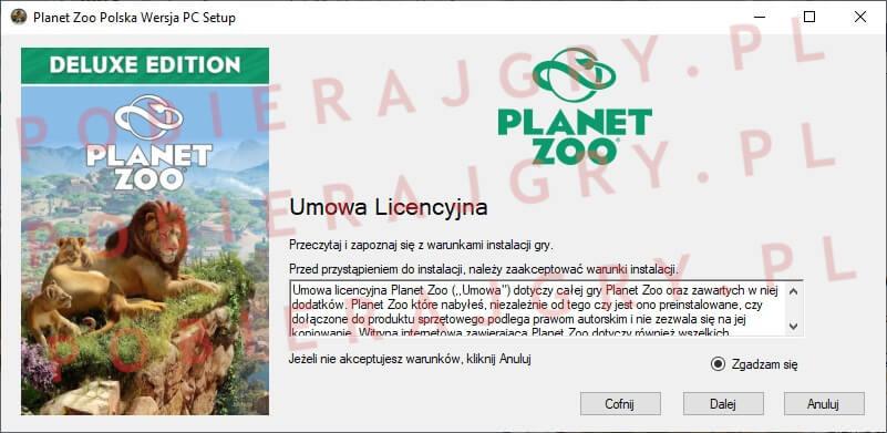 planet zoo instalacja 2