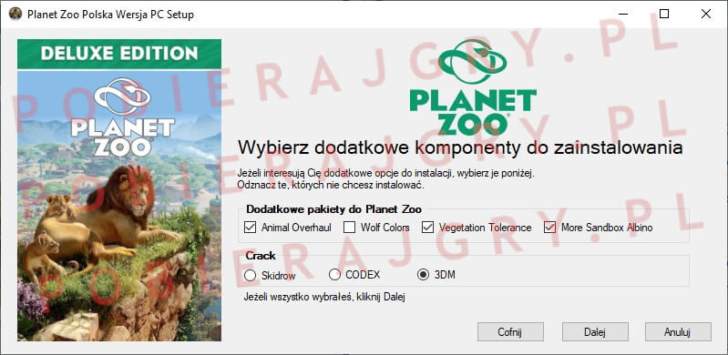 planet zoo instalacja 3