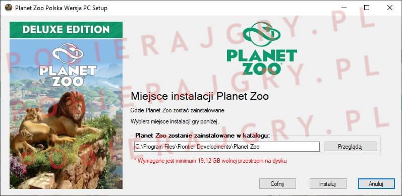 planet zoo instalacja 4