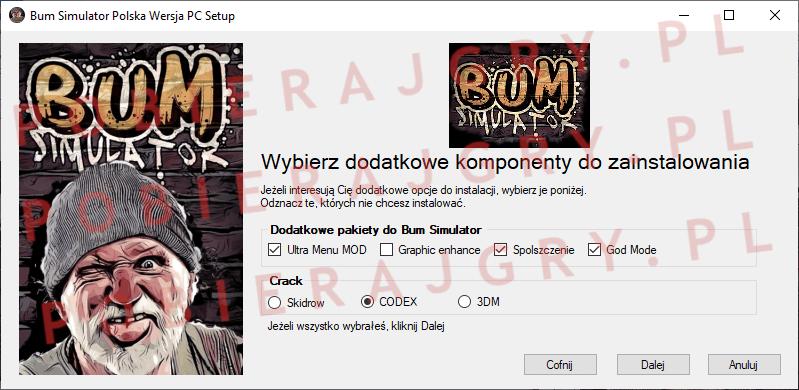 Bum Simulator Instalacja 3