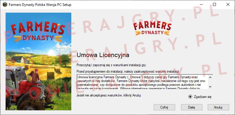 Farmers Dynasty Instalacja 2